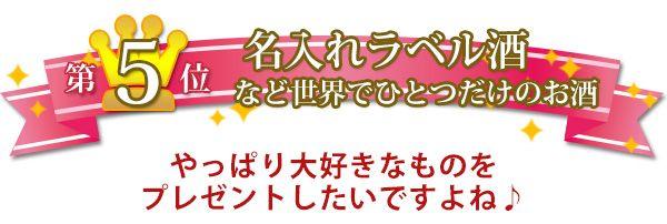 米寿のお祝い人気プレゼントランキング5位