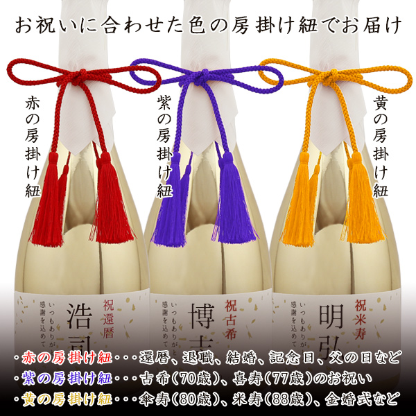 米寿祝いにお名前入りラベルの芋焼酎