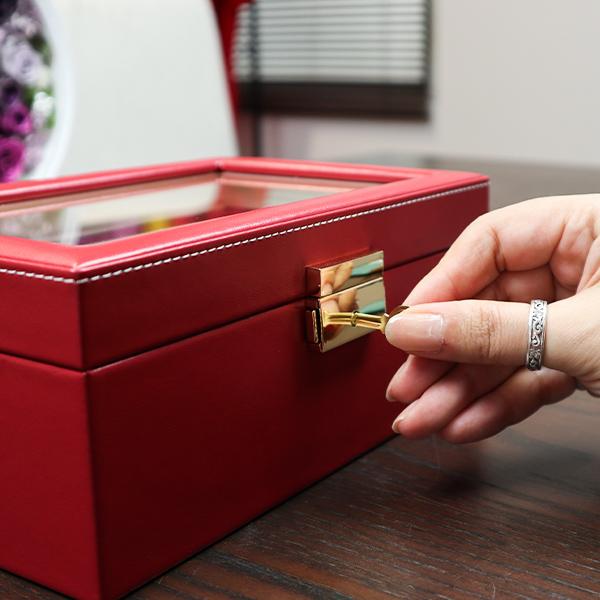 米寿祝いに名入れジュエリーボックス
